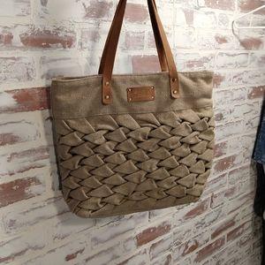 CoCo and Carmen woven handbag